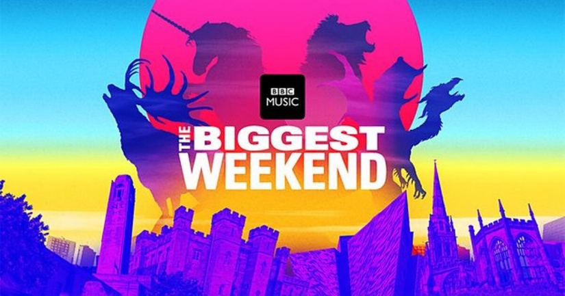 BBC have announced details of The Biggest Weekend